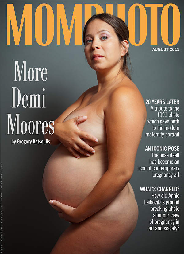 Demi Moore Vanity Fair Pregnant Photo 116