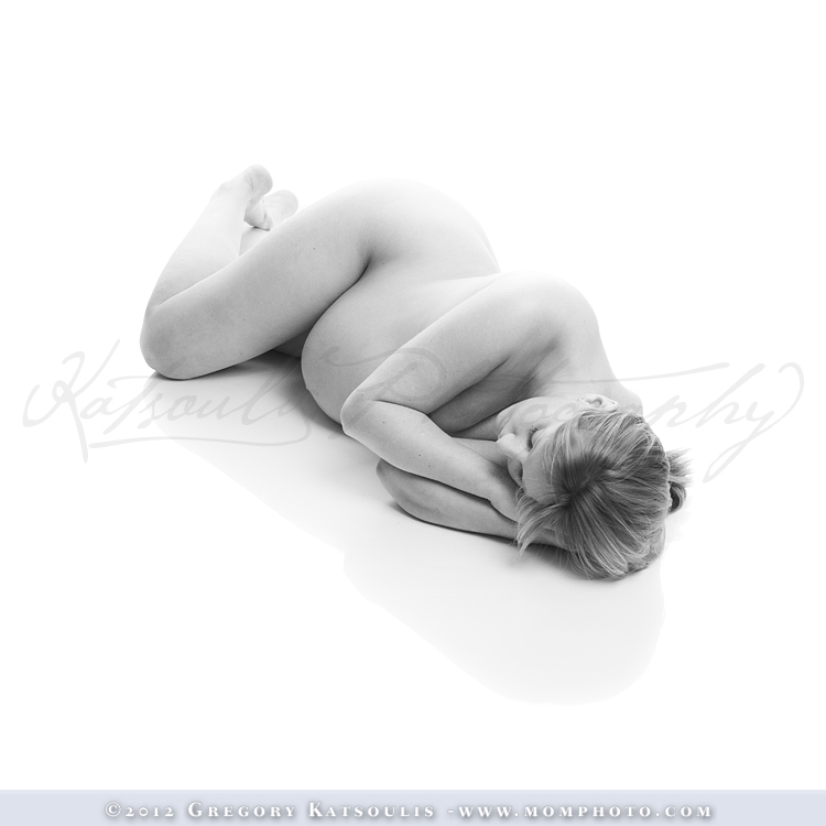 Reclining Pregnancy Pose