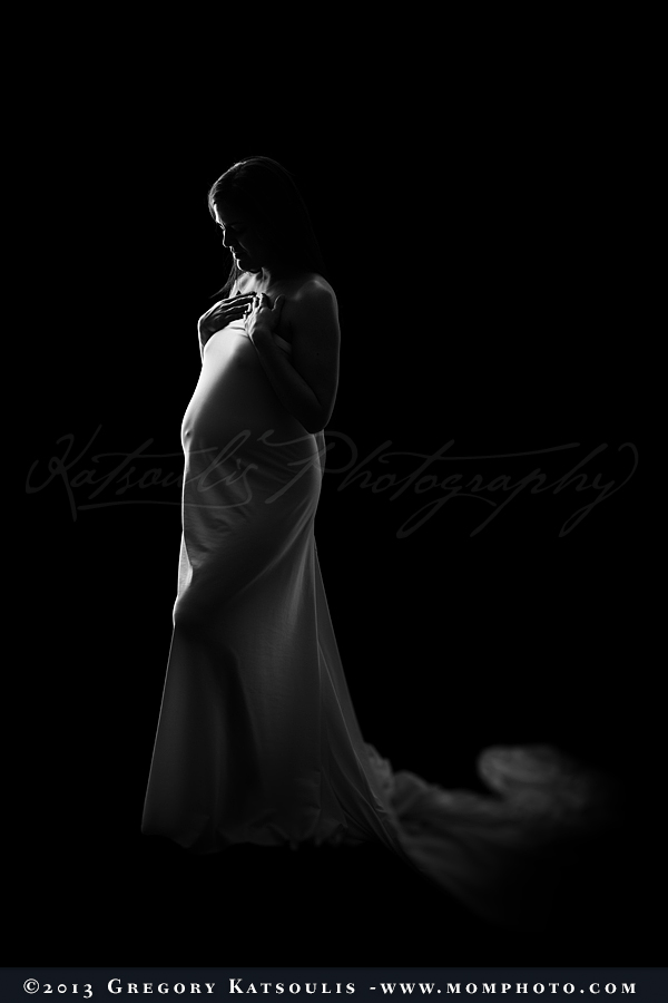 Maternity Draped Fabric