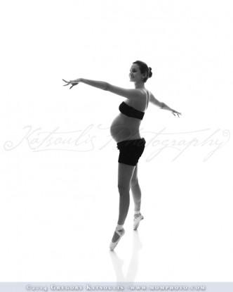 pregnant ballerina
