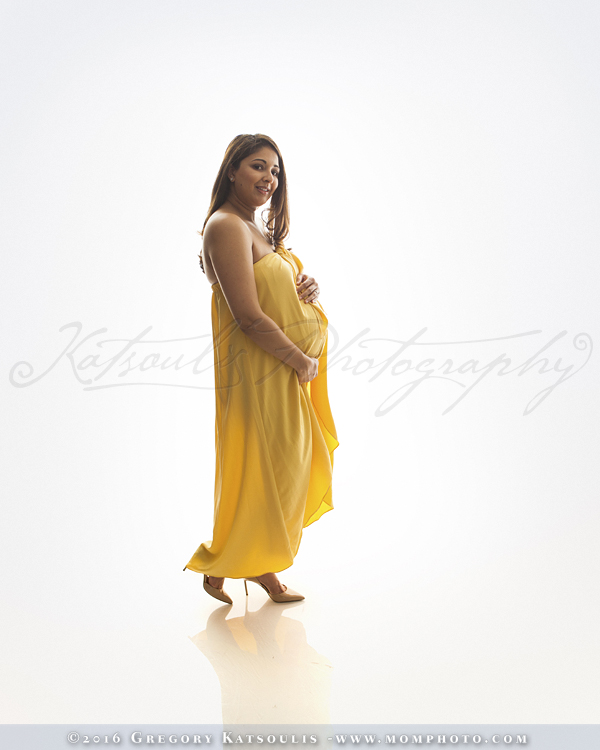 maternity dress yellow